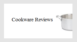 cookware reviews button