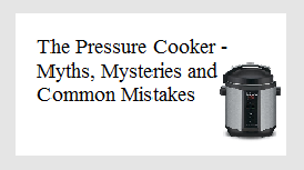 pressure cooker button